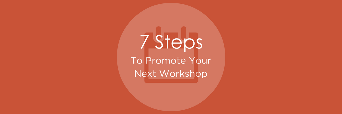 how to promote a workshop marketing
